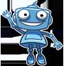 ربات آبی